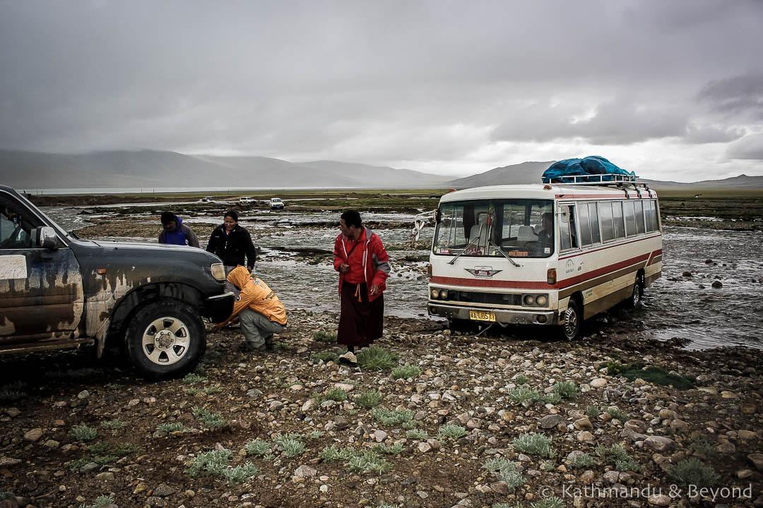 En route Paryang to Lake Manasarover Tibet
