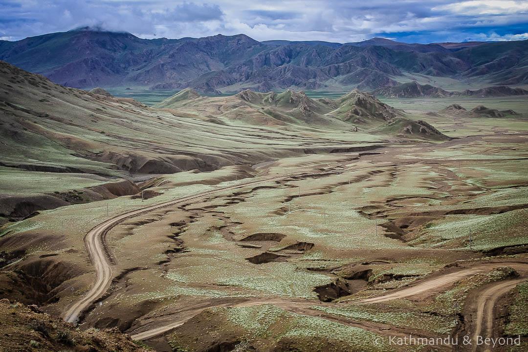 En route from Saga to Zhangmu 16 Tibet