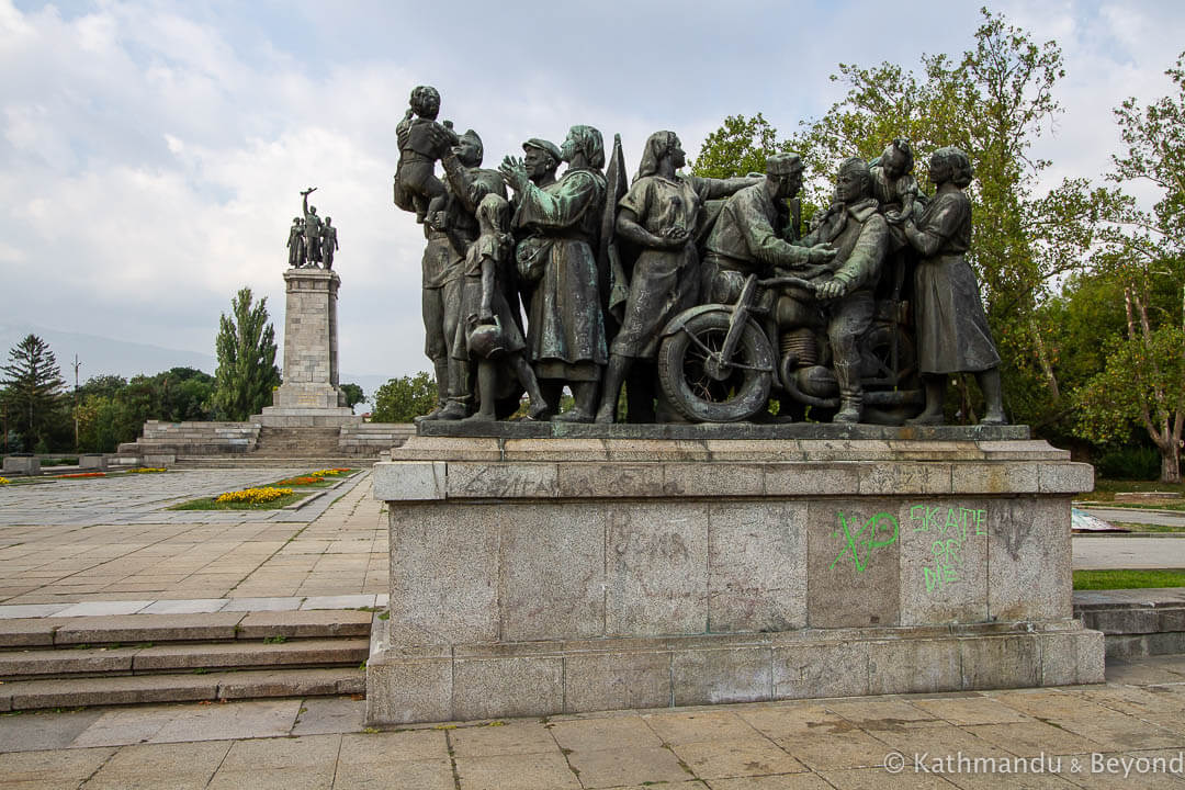 Monument to the Soviet Army Sofia Bulgaria-2-2-2