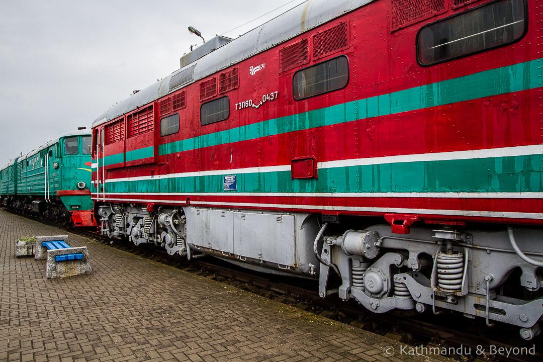 Museum of Railway Technology Brest Belarus-16