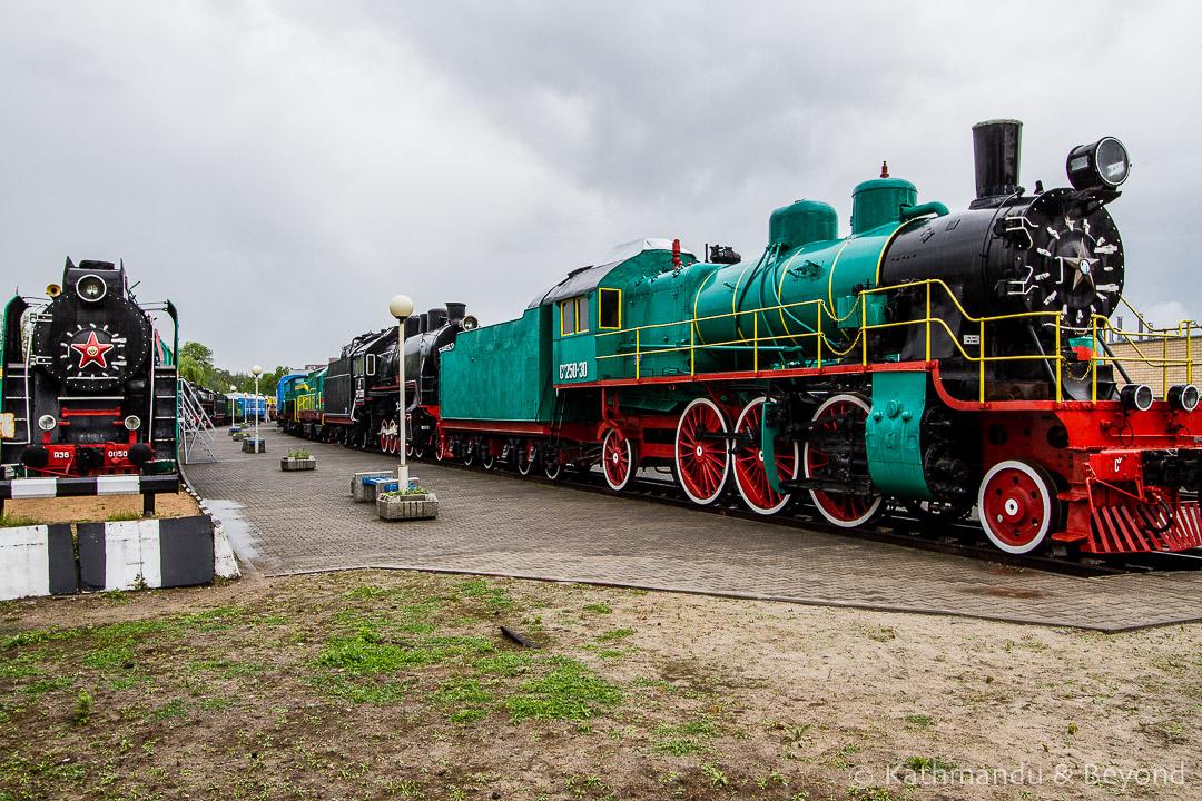 Museum of Railway Technology Brest Belarus-2