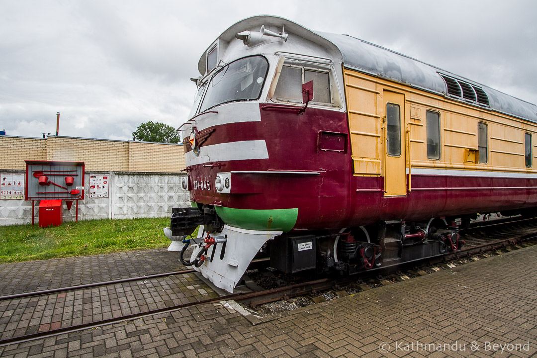 Museum of Railway Technology Brest Belarus-24