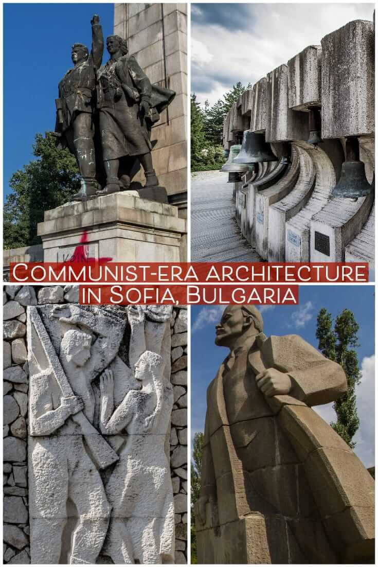 Sofia architecture - Communist-era monuments and buildings in Sofia, Bulgaria #Balkans # #travel #Europe