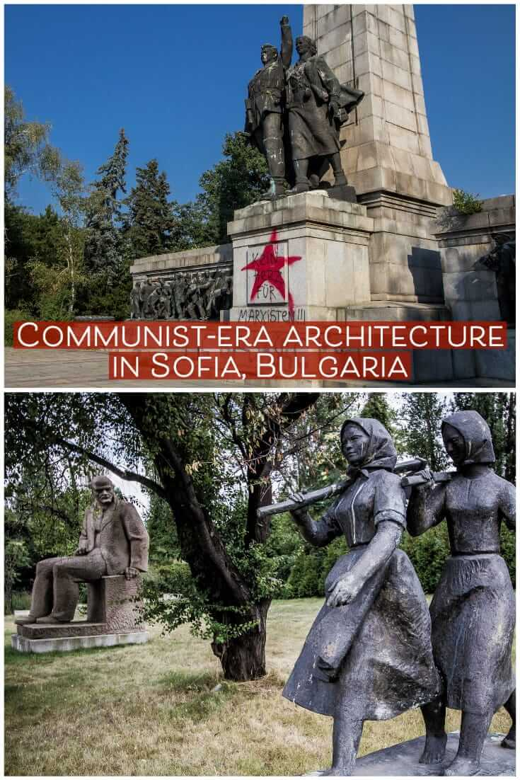 Sofia architecture - Communist-era monuments and buildings in Sofia, Bulgaria #Balkans #travel #europe