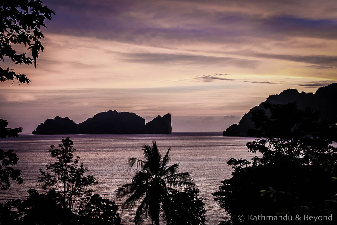 Phi Phi sunset, taken in 2008