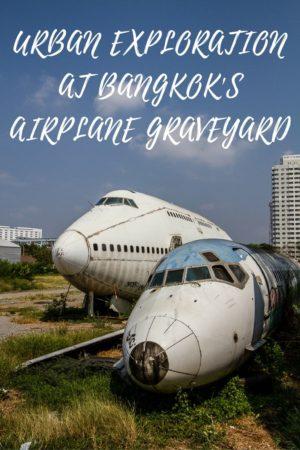 Urban Exploration at Bangkok's Airplane Graveyard - Photos of Abandoned Aircraft