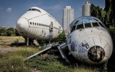 Visiting Bangkok's Airplane Graveyard in Thailand