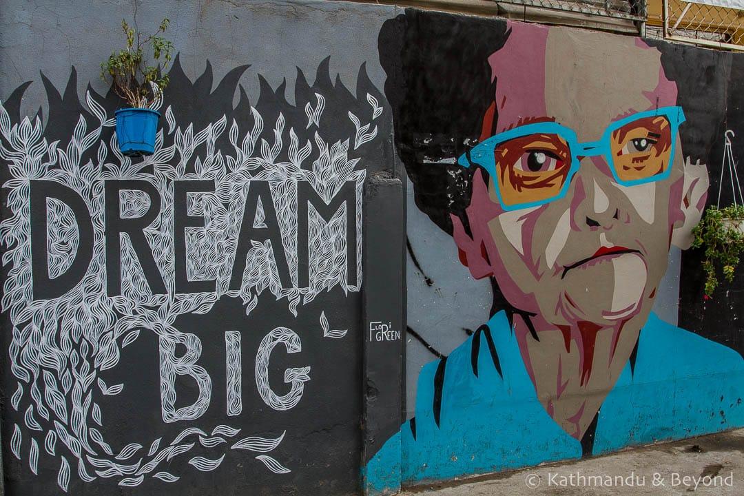 Street Art in Phnom Penh's Boeung Kak Cambodia