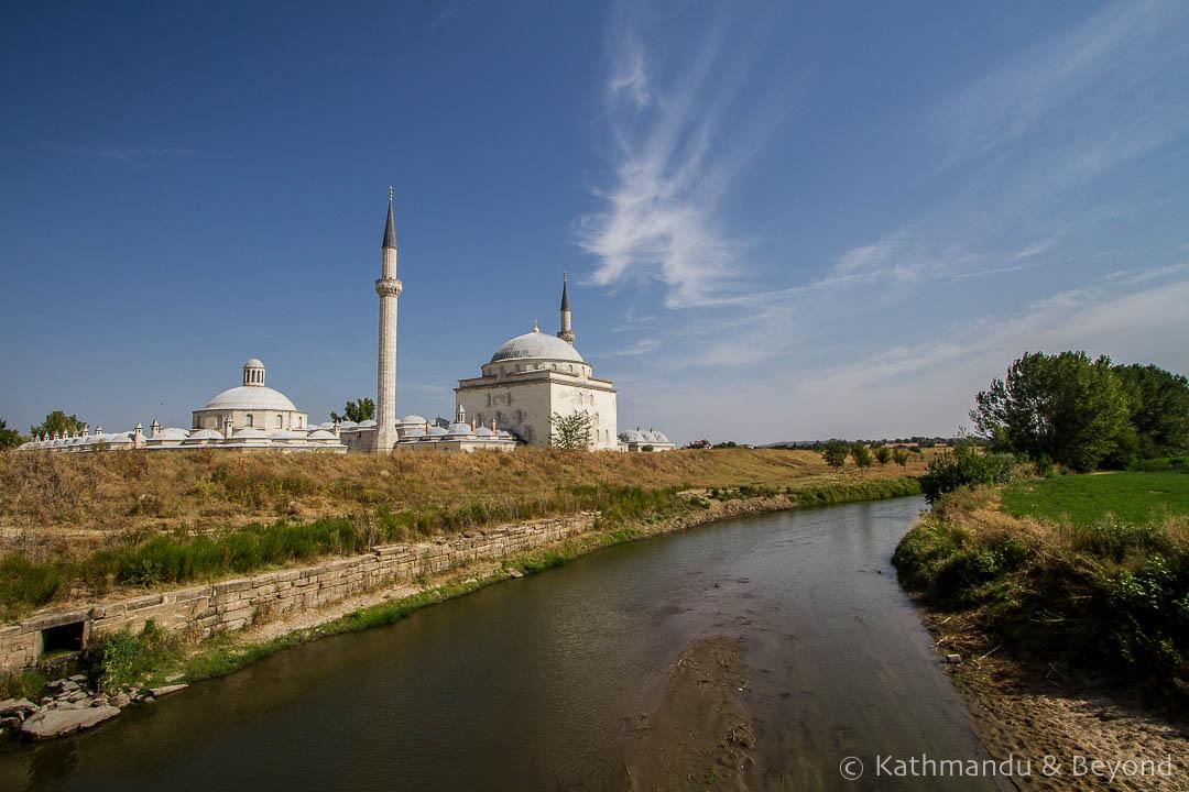 Complex of Sultan Bayezid II Mosque Edirne Turkey-6