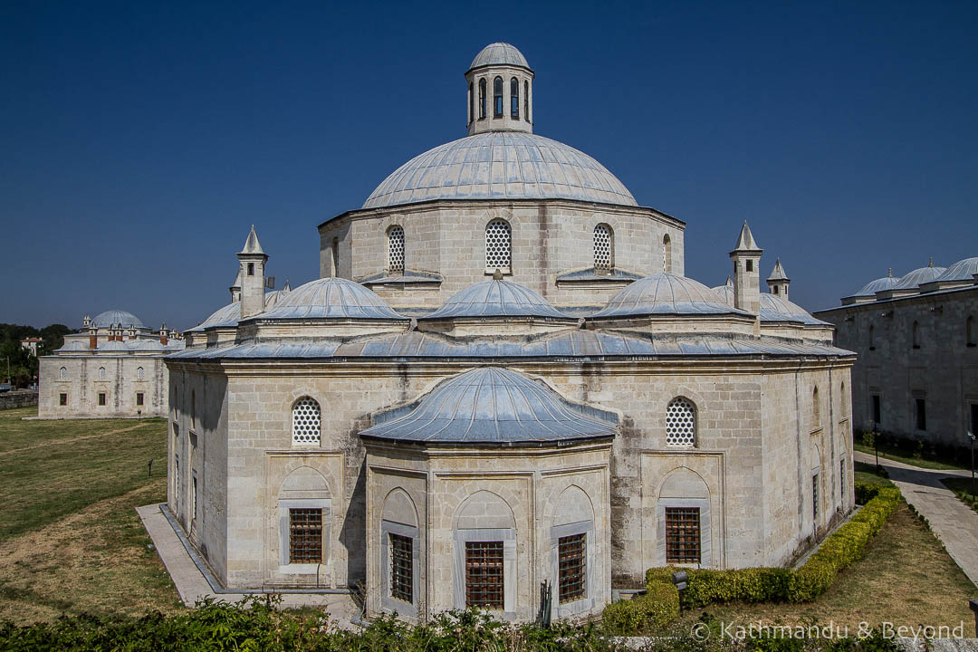 Complex of Sultan Bayezid II Mosque Health Museum Edirne Turkey-1