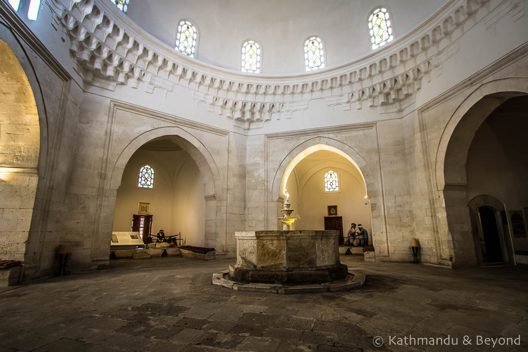 Complex of Sultan Bayezid II Mosque Health Museum Edirne Turkey-8