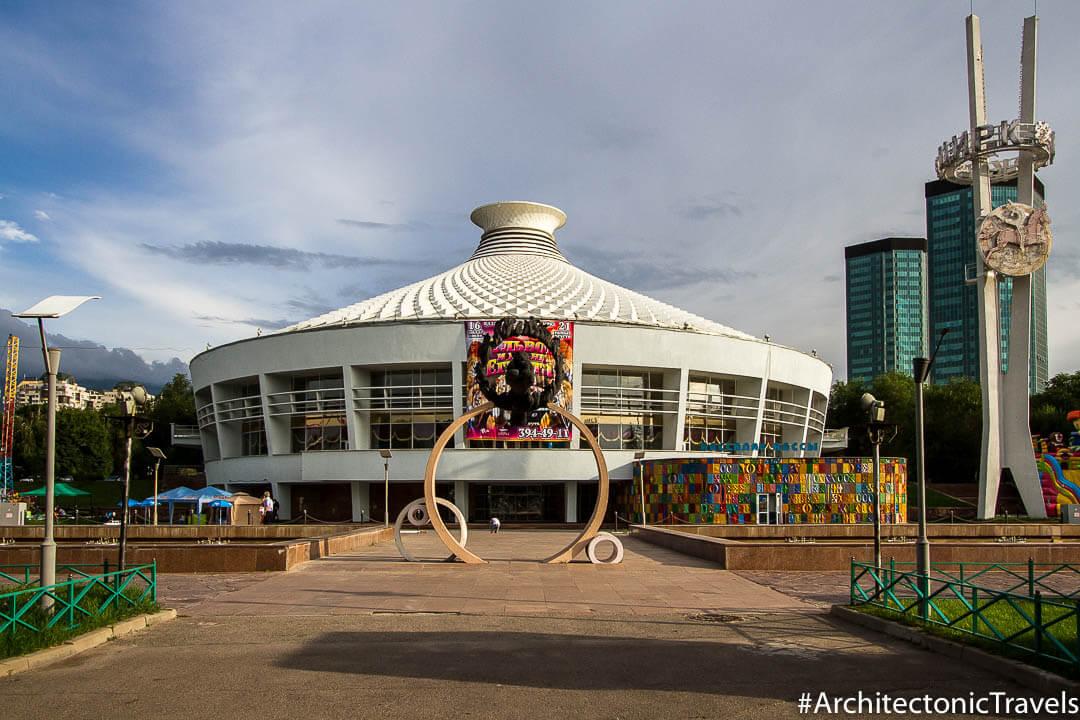Kazakh State Circus Almaty Kazakhstan-1