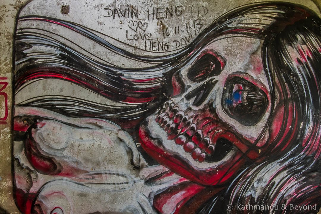 Street Art in Kep Cambodia