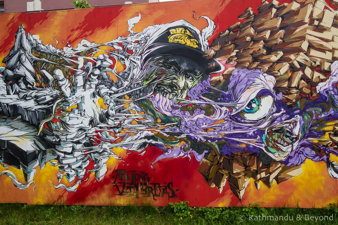 Street Art in Ostrava, Czech Republic