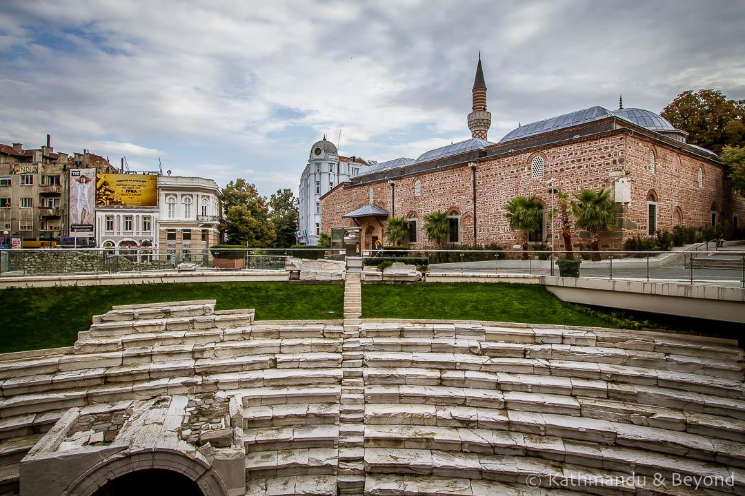 Roman Stadium Square Plovdiv Bulgaria-1