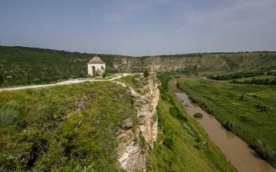 Visiting Orheiul Vechi near Trebujeni, Moldova