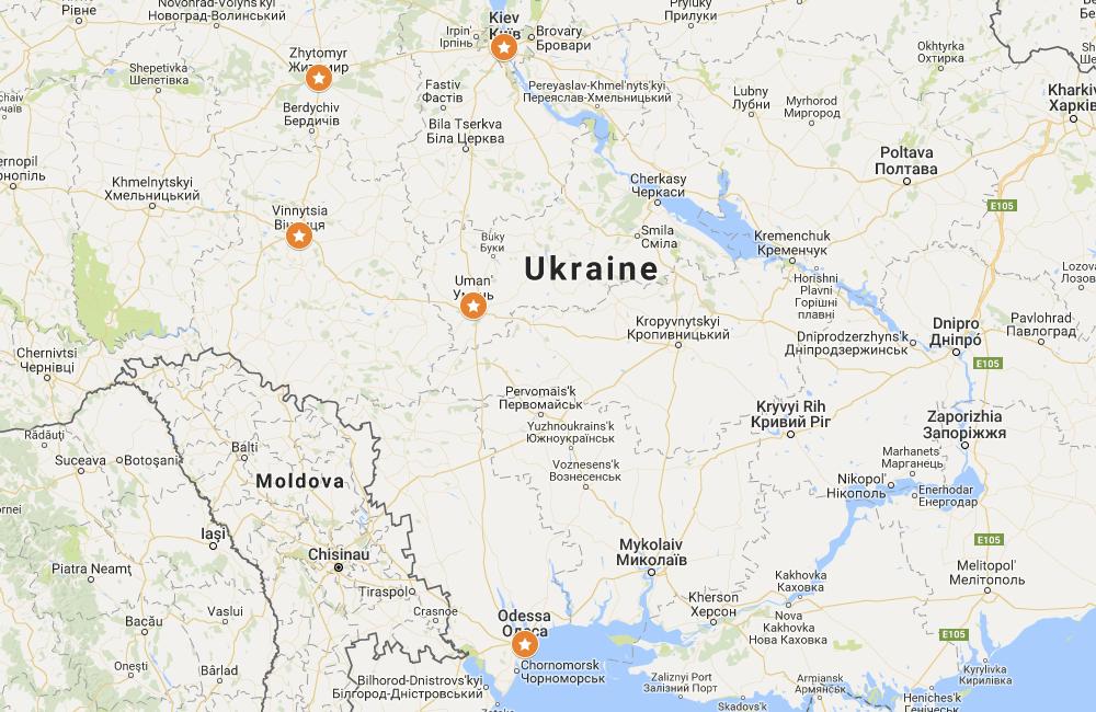 Where to break the journey between Kiev and Odessa | Ukraine Travel ...