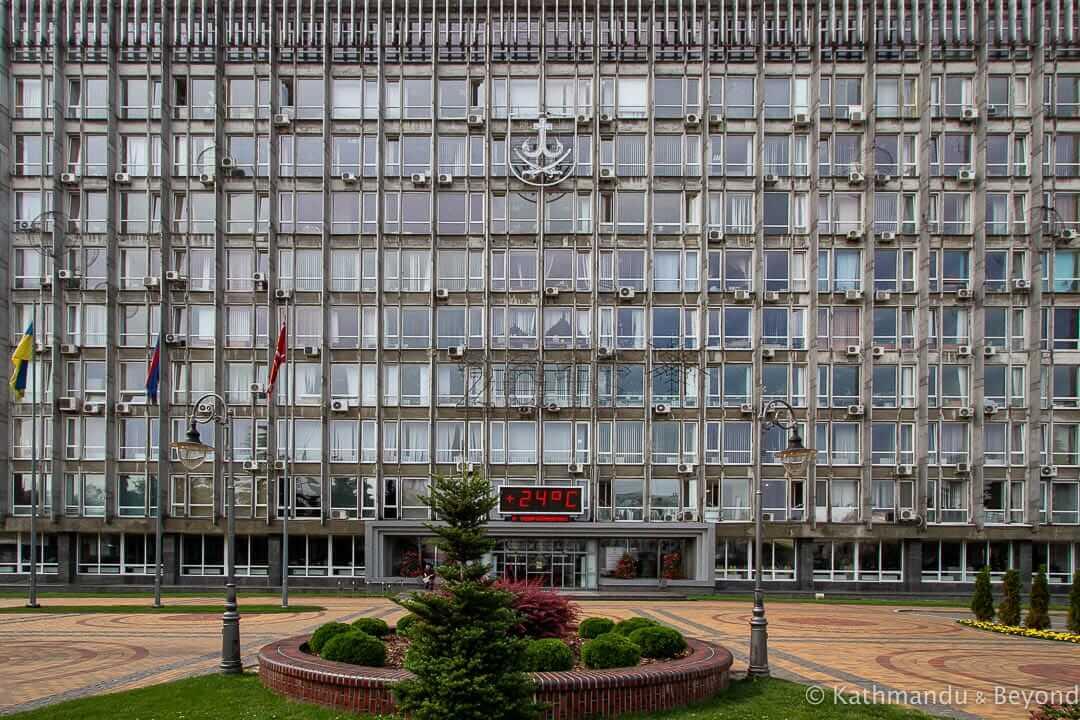 City Hall Vinnytsia (Vinnytsya) Ukraine-1-2