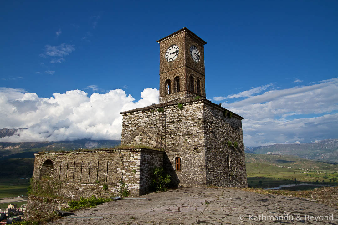 Clock Tower Gjirokastra Castle Gjirokastra Albania