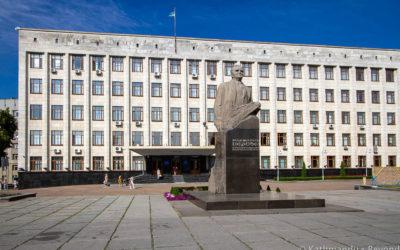 Monument to Sergei Korolev