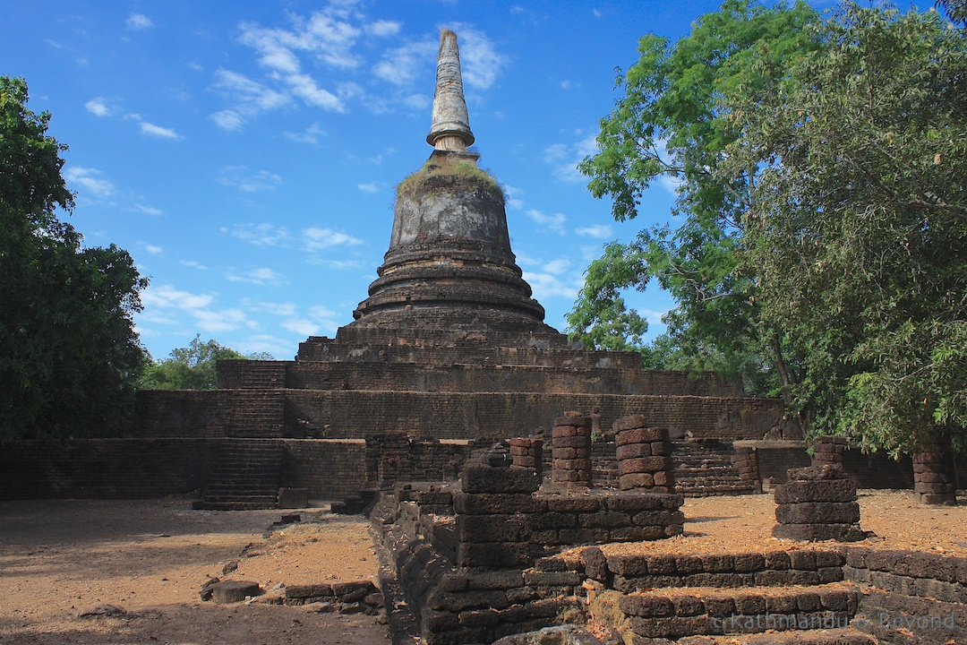 Wat Khao Suwan Khiri Si Satchanalai Historical Park Thailand