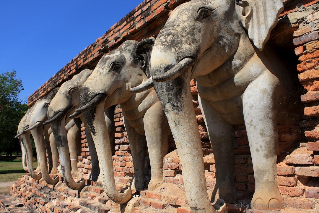Wat Sorasak Sukhothai Historical Park Thailand 3