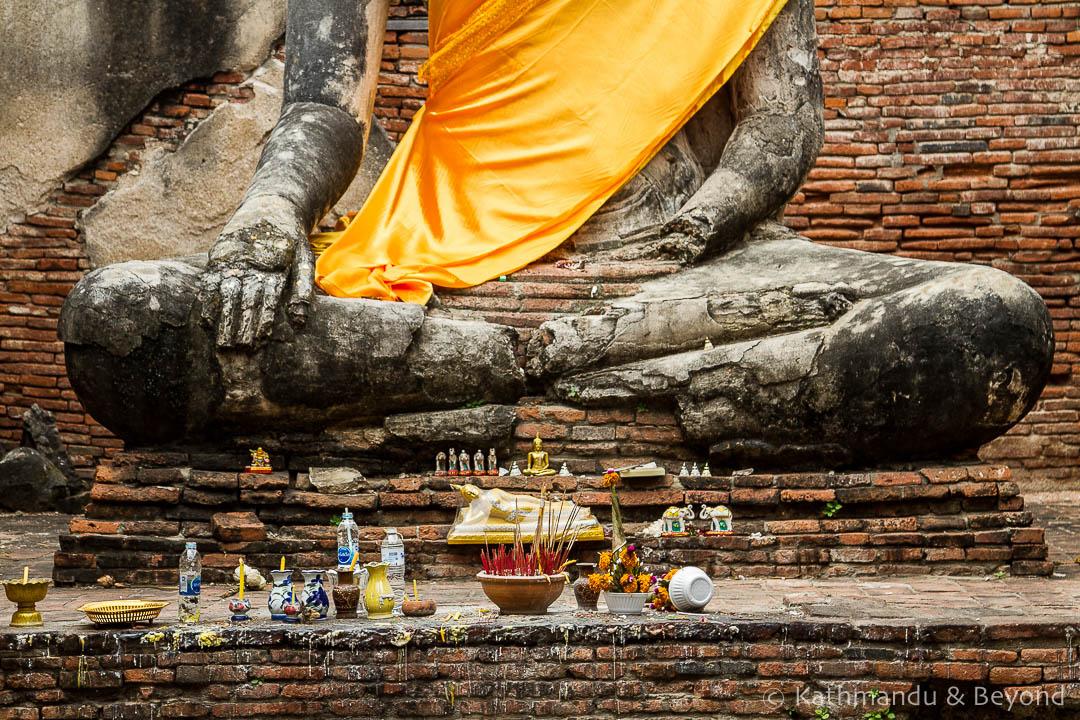 Wat Worachettharam Ayutthaya Thailand (3) | Where to break the journey between Bangkok and Chiang Mai