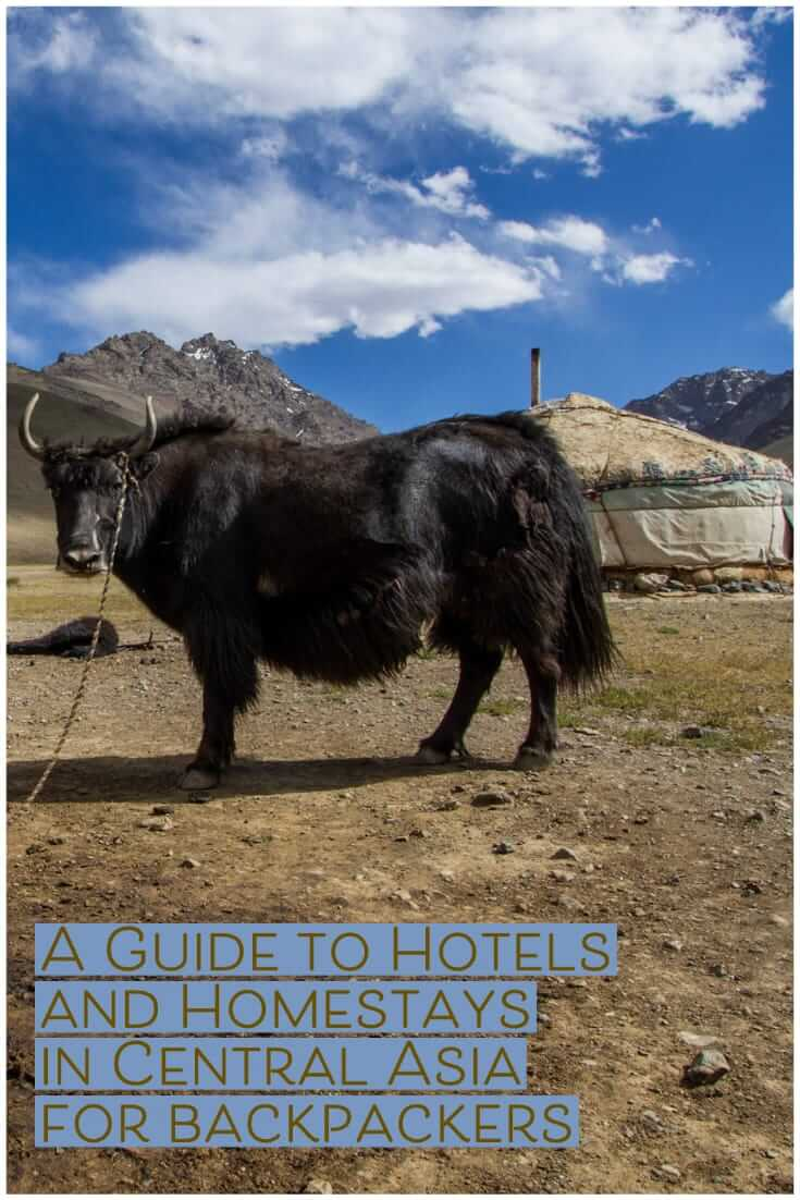 A Guide to Hotels and Homestays in Central Asia for backpackers and independent travellers #travel #budgettravel #traveltips #planning