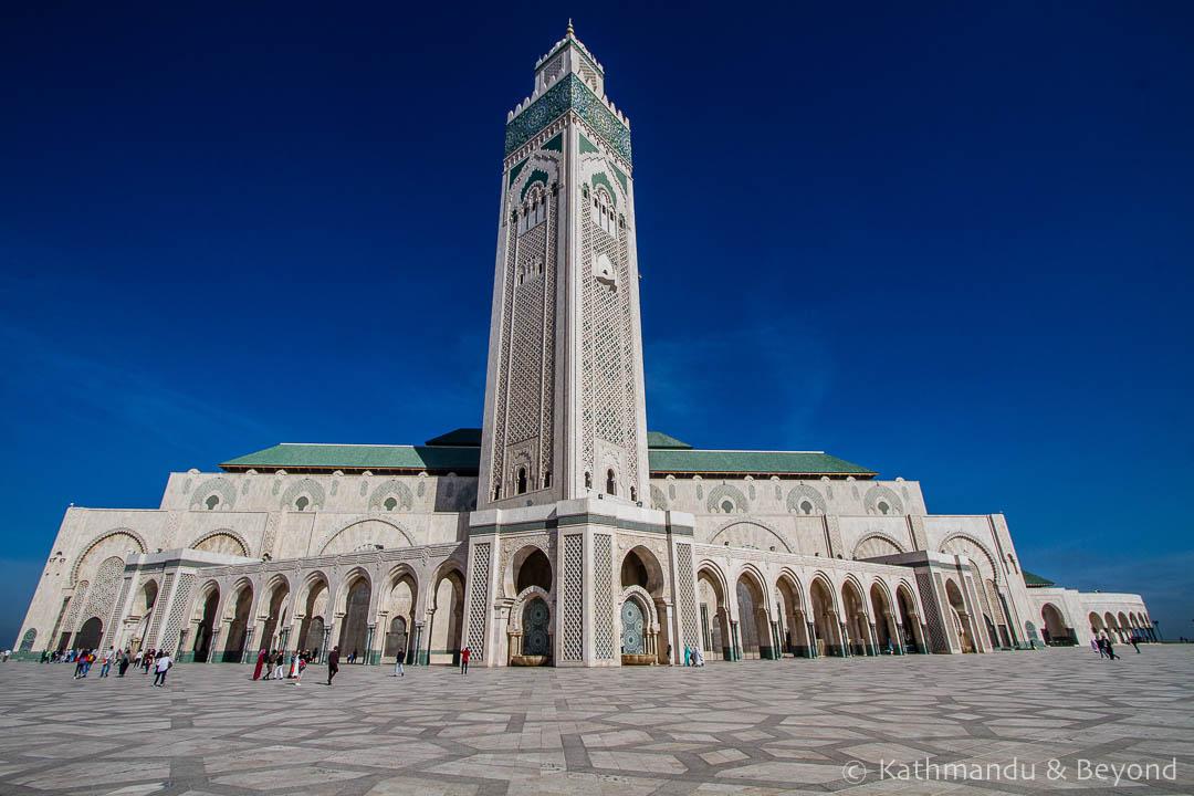 Hassan II Mosque Casablanca Morocco