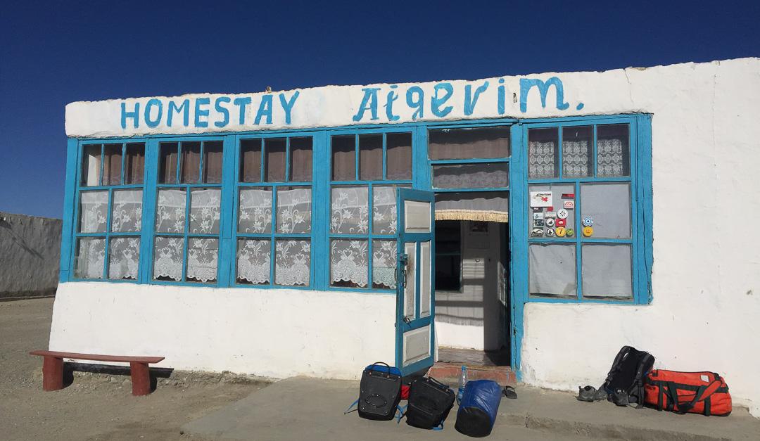 Homestay Aigerim Karakul Pamir Highway Tajikistan_