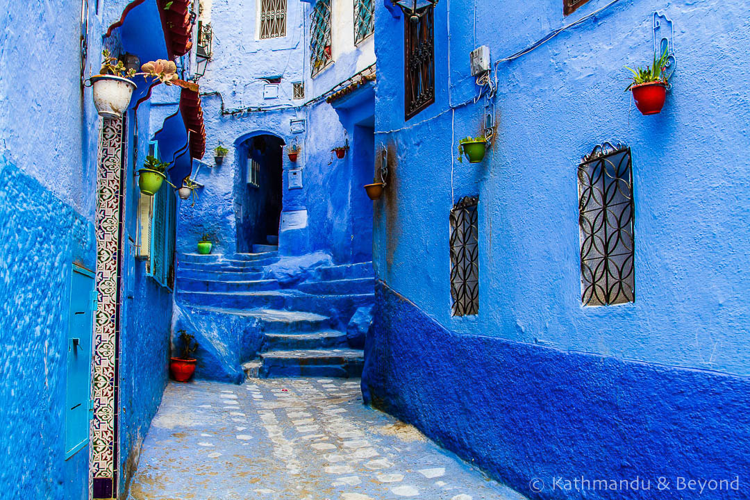 Image result for blue city morocco