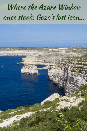 Where the Azure Window once stood | Gozo's lost icon | Malta