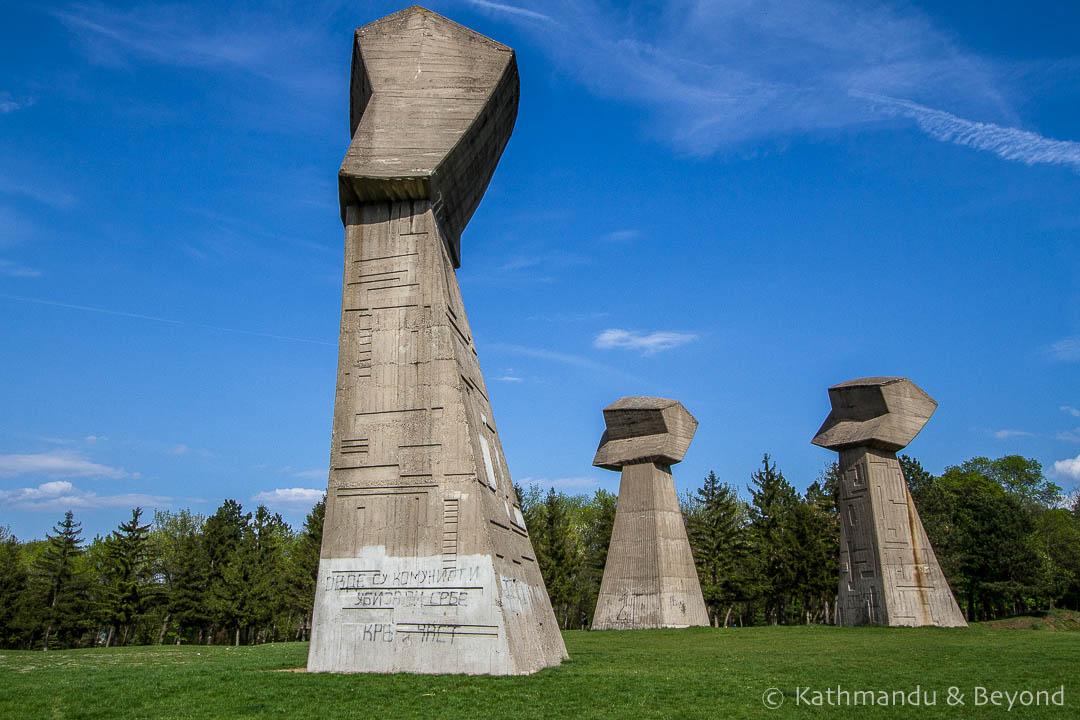 Bubanj Memorial Park (The Three Fists) Nis Serbia-3