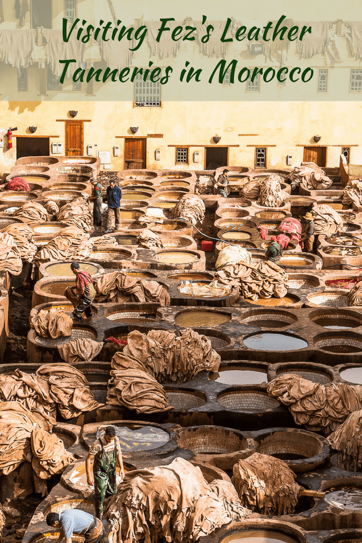 Visiting the Leather Tanneries of Fez in Morocco