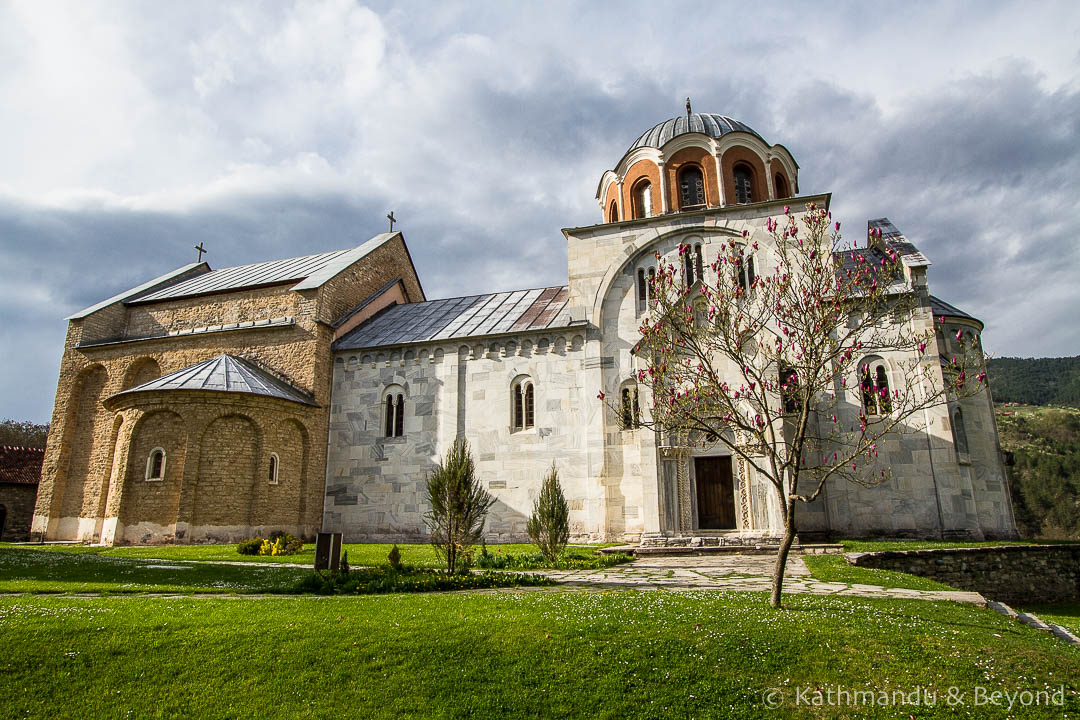 Church of Our Lady Studenica Monastery Serbia-7