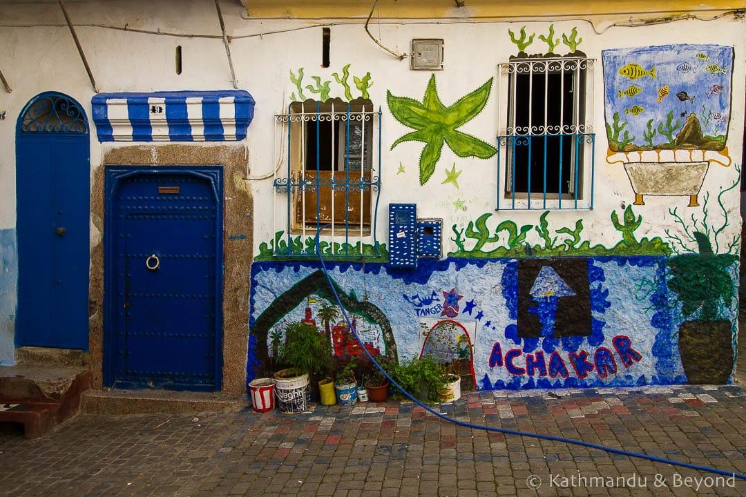 Street Art Tangier Medina Morocco