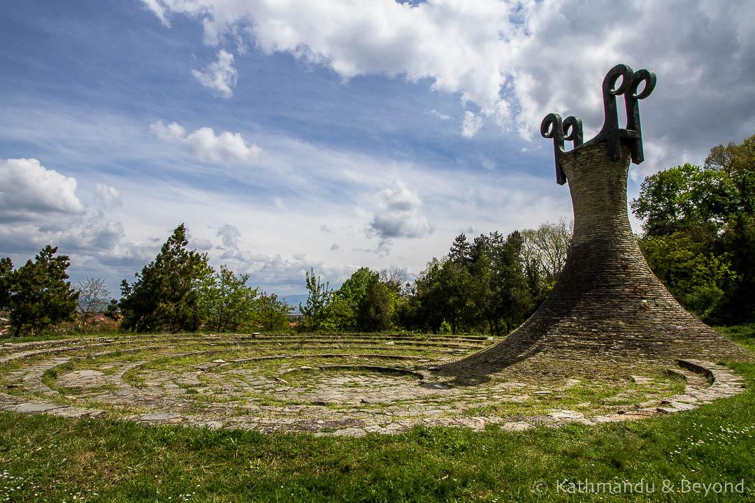 Monument to the Revolution in Leskovac, Serbia | Spomenik | Socialist monument | former Yugoslavia