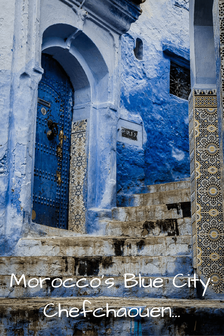 Fifty Shades of Blue in Chefchaouen. A guide to Morocco's 'Blue City' #travel #northAfrica #photos #colour