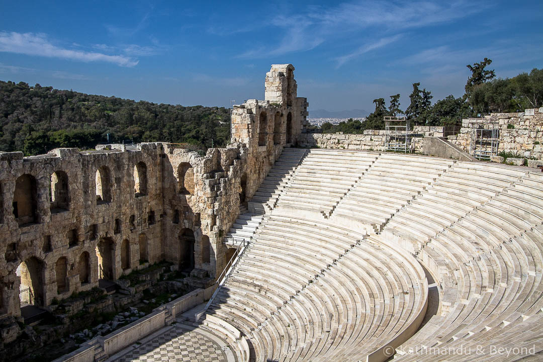 Odeon of Herodes Atticus Acropolis Athens Greece-2
