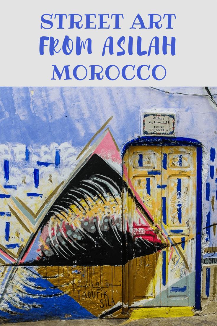 Street Art Asilah Morocco