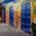 Street Art in Tangier, Morocco
