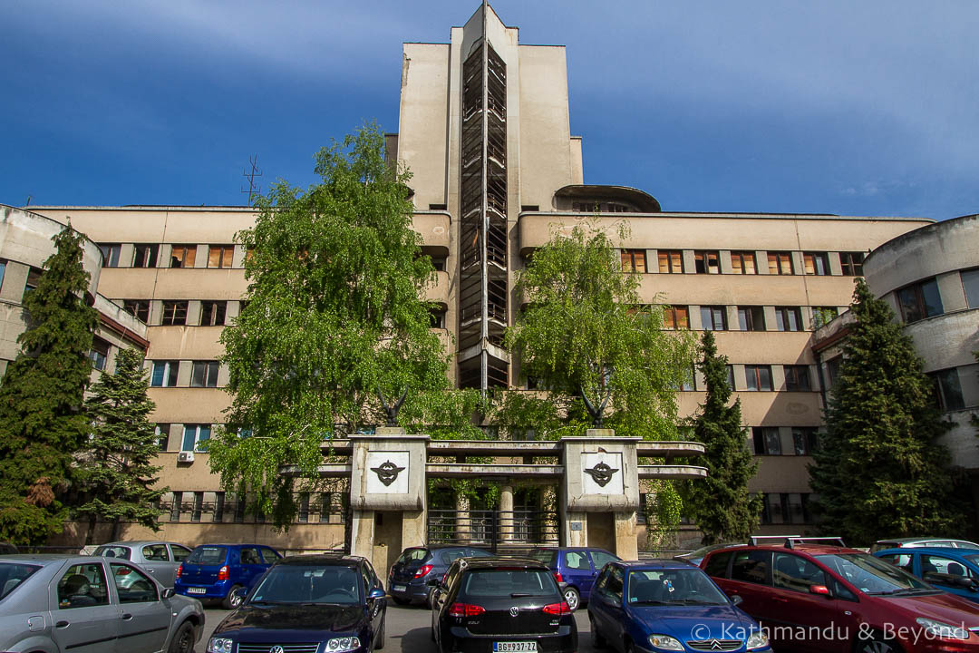 Air Force Command Building Zemun Belgrade Serbia-10