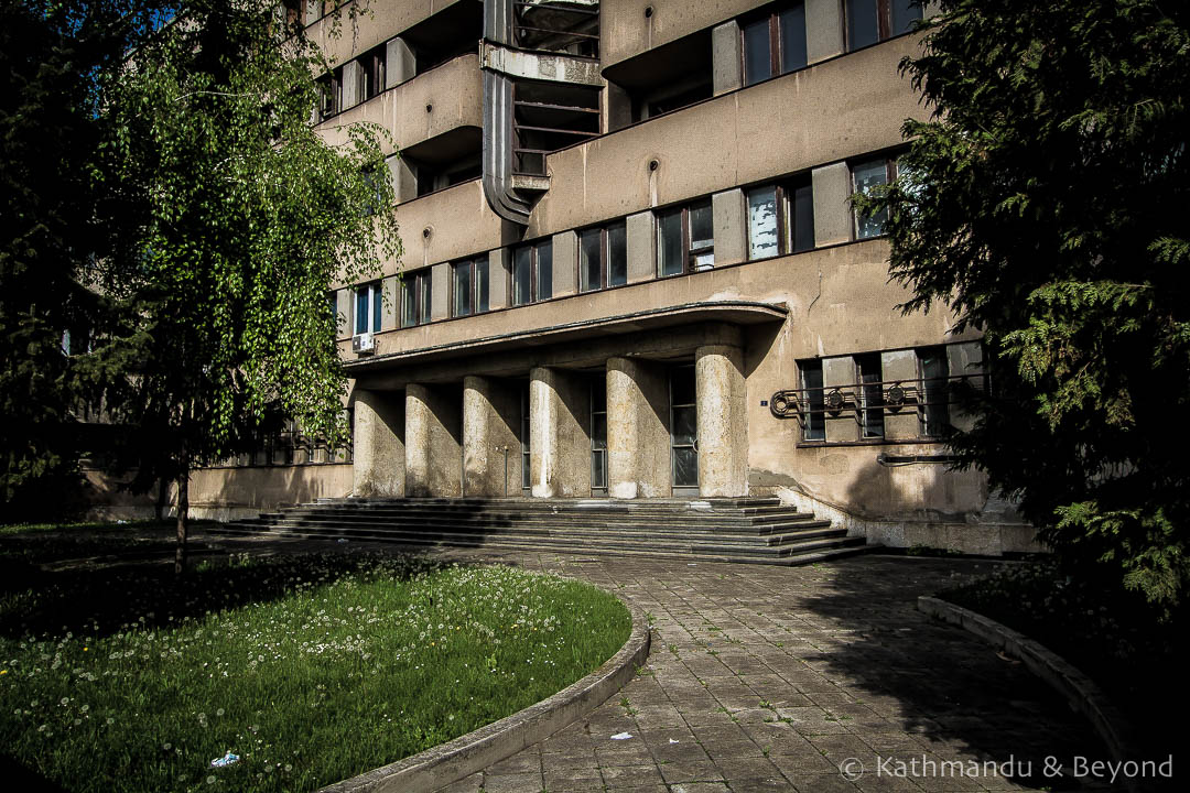 Air Force Command Building Zemun Belgrade Serbia-12