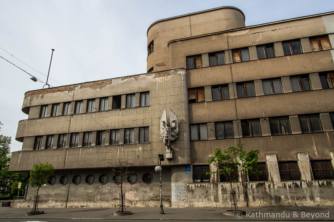 Air Force Command Building Zemun Belgrade Serbia-2-2