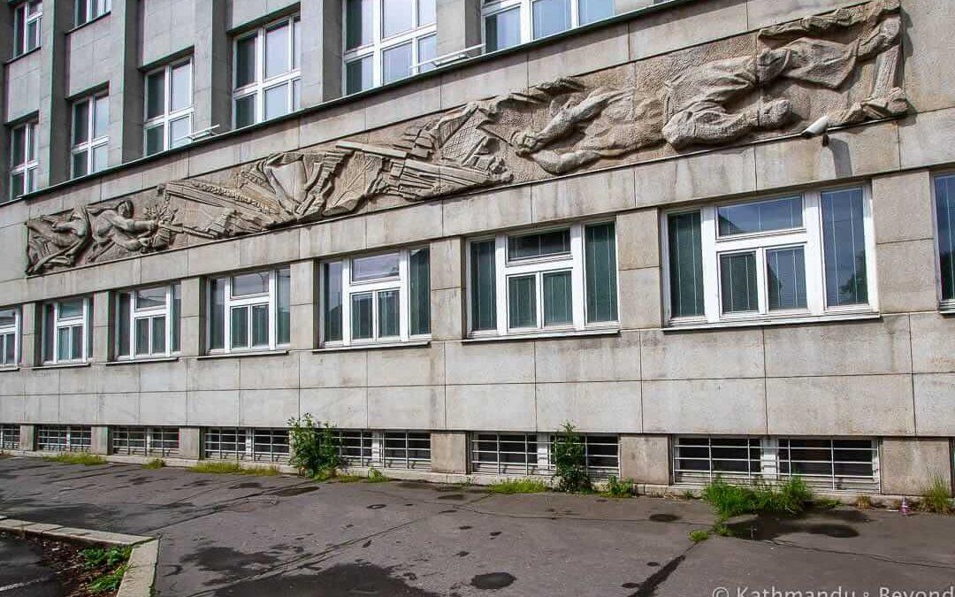 """Birth of Coal"", former headquarters of the Ostrava-Karviná Mines"