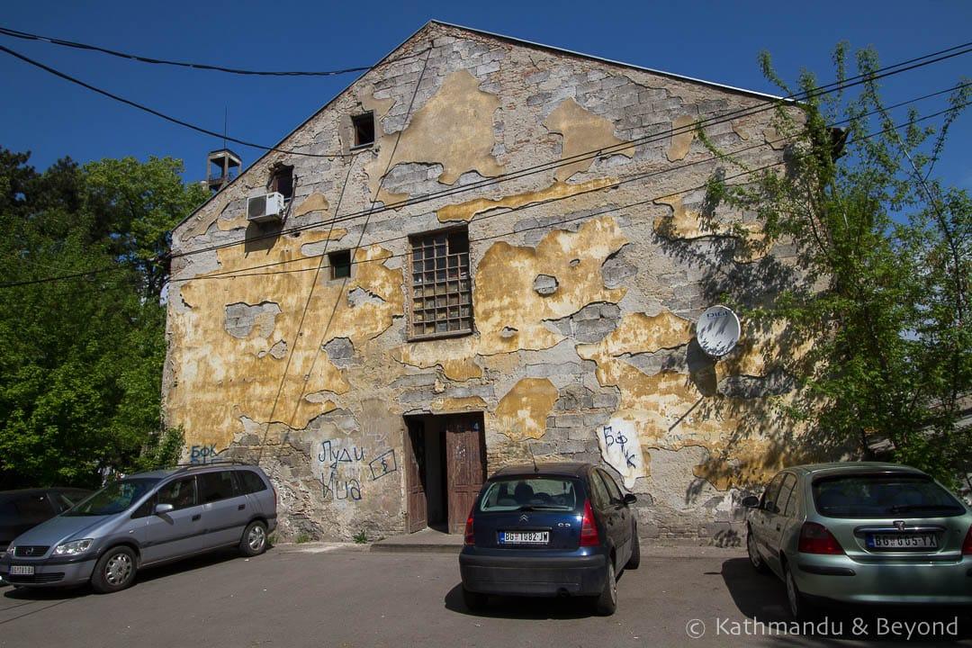 Sajmiste (Semlin) Concentration Camp New Belgrade Belgrade Serbia
