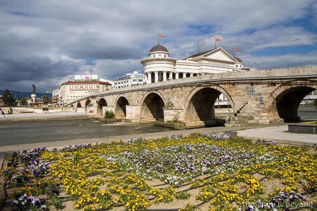 The Stone Bridge Skopje Macedonia-1