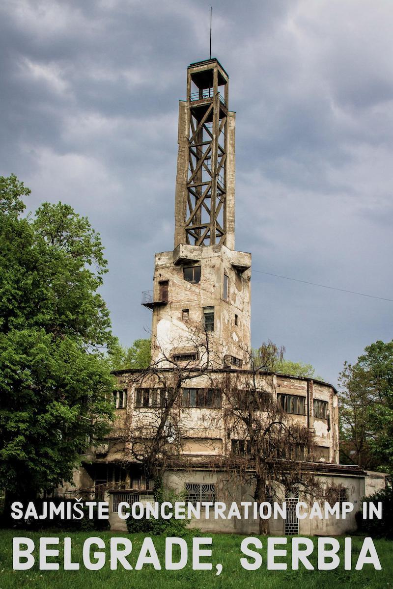Visiting Sajmište Concentration Camp in Belgrade, Serbia