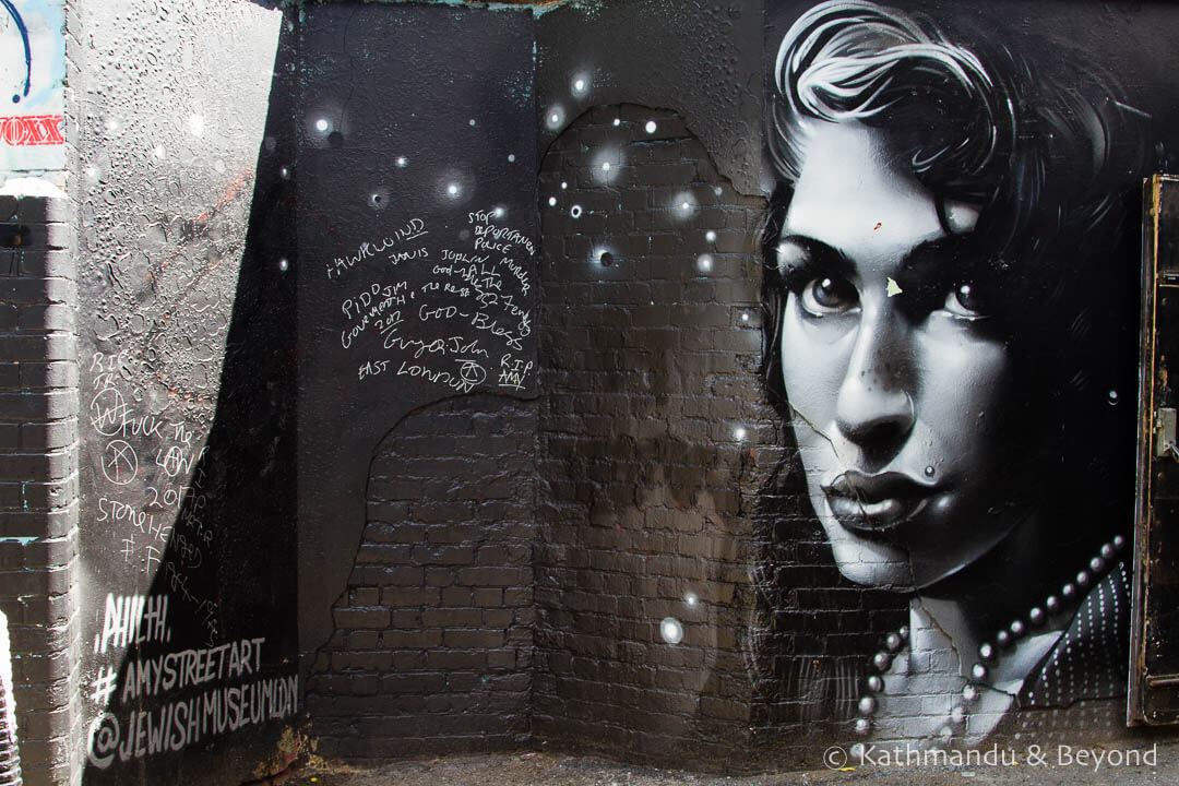 Amy Street Art Trail Camden, London