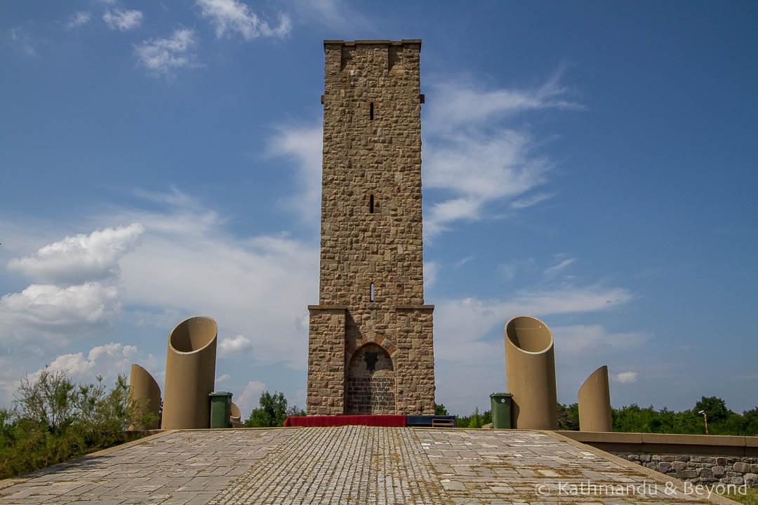 Gazimestan Monument in Pristina, Kosovo | War memorial | Socialist monument | former Yugoslavia
